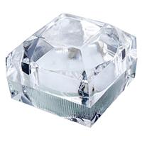 Kunststoff Einzelring Kasten, mit Schwamm, Quadrat, 44x44x41mm, verkauft von PC