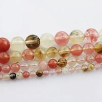 Wassermelone Perle, rund, verschiedene Größen vorhanden, verkauft per ca. 15 ZollInch Strang