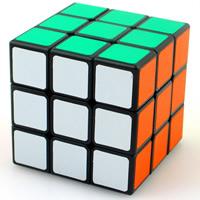 Speed-Puzzle Magic Rubik Würfel Spielzeug, Kunststoff, farbenfroh, 50x50x50mm, verkauft von PC