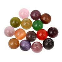 Cats Eye Perlen Schmuck, Katzenauge, rund, keine, 10mm, Bohrung:ca. 1mm, 10PCs/Tasche, verkauft von Tasche