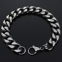 Herren-Armband & Bangle, Titanstahl, für den Menschen, originale Farbe, 170mm, verkauft per ca. 6.5 ZollInch Strang