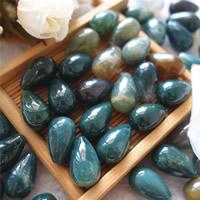 Natürliche Indian Achat Perlen, Indischer Achat, Tropfen, 10x16mm, Bohrung:ca. 0.5-1mm, 30PCs/Tasche, verkauft von Tasche