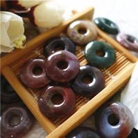 Natürliche Indian Achat Perlen, Indischer Achat, Kreisring, 20x20x4mm, 10PCs/Tasche, verkauft von Tasche