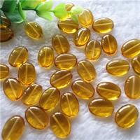 Synthetischer Quarz Perlen, oval, gelb, 13x18mm, Bohrung:ca. 0.5-1mm, 20PCs/Tasche, verkauft von Tasche