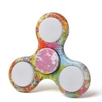 Finger Hand Spinner Gyroskop, Kunststoff, mit Zinklegierung, LED, keine, 70x70x15mm, verkauft von PC