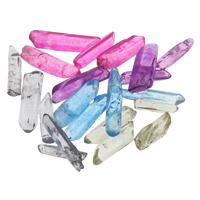 Natürlicher Quarz Perlen Schmuck, kein Loch, keine, 6x15-7x29mm, 5PCs/Tasche, verkauft von Tasche