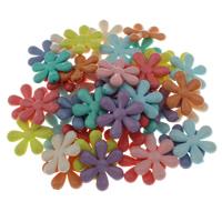 Gemischte Acrylperlen, Acryl, 35x6mm, Bohrung:ca. 1mm, ca. 500PCs/Tasche, verkauft von Tasche