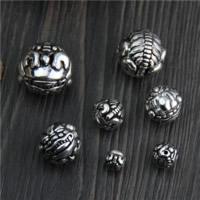 Bali Sterling Silber Perlen, Thailand, Fabelhaft wildes Tier, verschiedene Größen vorhanden, verkauft von Menge