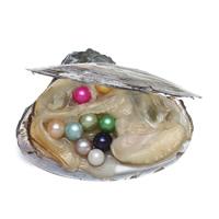 Süßwasser kultivierte Liebe wünschen Perlenaustern, Perlen, keine, 7-8mm, 20PCs/Menge, verkauft von Menge