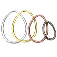Zinklegierung Verbindungsring, plattiert, verschiedene Größen vorhanden, keine, frei von Nickel, Blei & Kadmium, 100PCs/Menge, verkauft von Menge