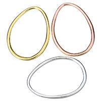 Zinklegierung Verbindungsring, plattiert, keine, frei von Nickel, Blei & Kadmium, 28x39x2mm, Innendurchmesser:ca. 23.5x35mm, 50PCs/Menge, verkauft von Menge