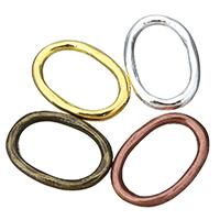Zinklegierung Verbindungsring, plattiert, keine, frei von Nickel, Blei & Kadmium, 18x26x3mm, Innendurchmesser:ca. 12.5x20mm, 100PCs/Menge, verkauft von Menge
