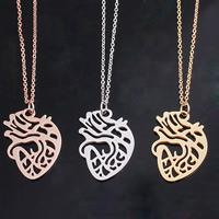 Edelstahl Schmuck Halskette, mit Titanstahl, Herz, plattiert, Oval-Kette & für Frau, keine, 30x21mm, verkauft per ca. 19.5 ZollInch Strang