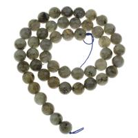 Labradorit Perlen, rund, verschiedene Größen vorhanden, Bohrung:ca. 1mm, verkauft per ca. 15 ZollInch Strang