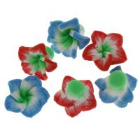 Lagerluft Perlen Schmuck, Acryl, gemischt, 13.5x7.5mm, Bohrung:ca. 1.5mm, 10PCs/Tasche, verkauft von Tasche