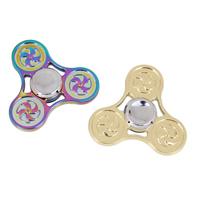 Finger Hand Spinner Gyroskop, Aluminium, plattiert, keine, frei von Nickel, Blei & Kadmium, 58x55x12mm, 60x88x18mm, verkauft von PC