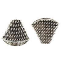 Zinklegierung Perlenkappe, antik silberfarben plattiert, frei von Blei & Kadmium, 18x20x11.50mm, Bohrung:ca. 2mm, 10PCs/Tasche, verkauft von Tasche