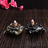 Porcelain Backflow Incense Burner, Porzellan, handgemacht, keine, 85x80x33mm, verkauft von PC