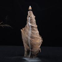 Porcelain Backflow Incense Burner, Padauk, 150x320mm, verkauft von PC