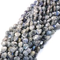 Labradorit Perlen, Herz, natürlich, verschiedene Größen vorhanden & facettierte, Bohrung:ca. 0.5-1mm, verkauft per ca. 16 ZollInch Strang