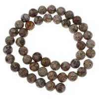 Natürliche Tibetan Achat Dzi Perlen, rund, verschiedene Größen vorhanden, Bohrung:ca. 1mm, verkauft per ca. 15 ZollInch Strang