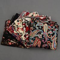 Unisex Taschentuch, Polyester, Quadrat, verschiedene Größen vorhanden & verschiedene Muster für Wahl, verkauft von PC