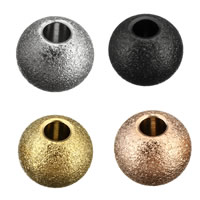 Edelstahl-Beads, Edelstahl, Trommel, plattiert, keine, 5x6x6mm, Bohrung:ca. 2mm, 200PCs/Menge, verkauft von Menge