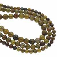 Natürliche Drachen Venen Achat Perlen, Drachenvenen Achat, rund, verschiedene Größen vorhanden, Bohrung:ca. 1mm, verkauft per ca. 15.5 ZollInch Strang