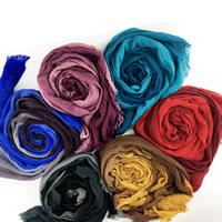 Baumwollschal & amp; Schal, Baumwolle, keine, 100x210cm, verkauft von Strang