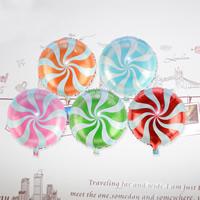 Ballone, Alufolie, gemischte Farben, 18 Inch, 20PCs/Tasche, verkauft von Tasche