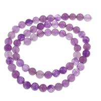 Lila Chalcedon, violetter Chalzedon, rund, natürlich, verschiedene Größen vorhanden, Grade AAAAA, Bohrung:ca. 1mm, verkauft per ca. 15.5 ZollInch Strang