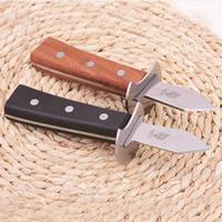 Austernmesser, Edelstahl, mit Holz, keine, 172x30mm, verkauft von PC