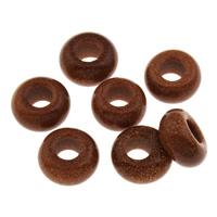 Goldstein Perlen, Goldsand, 14x7mm, Bohrung:ca. 5.5mm, verkauft von PC