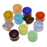 Cats Eye Perlen Schmuck, Katzenauge, gemischte Farben, 12.5x10mm, Bohrung:ca. 5.5mm, verkauft von PC