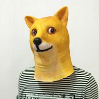 Fashion Party Maske, Halloween Schmuck, gelb, 320x250mm, verkauft von PC