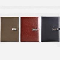 Notizbuch, PU Leder, mit Papier, Rechteck, keine, 250x322mm, verkauft von PC