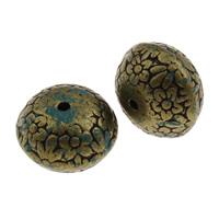 Acryl Schmuck Perlen, 21x14mm, Bohrung:ca. 2.5mm, ca. 136PCs/Tasche, verkauft von Tasche