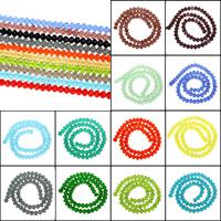 Kristall-Perlen, Kristall, verschiedene Größen vorhanden & facettierte, mehrere Farben vorhanden, Bohrung:ca. 1mm, Länge:ca. 15 ZollInch, verkauft von Tasche
