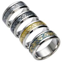 Unisex-Finger-Ring, 201 Edelstahl, mit Papier, plattiert, verschiedene Größen vorhanden & buntes Pulver, keine, frei von Nickel, Blei & Kadmium, 8x2mm, verkauft von PC