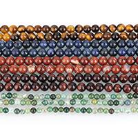 Edelstein Schmuckperlen, rund, natürliche & verschiedenen Materialien für die Wahl & verschiedene Größen vorhanden, verkauft per ca. 16 ZollInch Strang