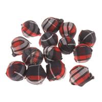 Stoff Perle, rund, 14mm, 50PCs/Tasche, verkauft von Tasche