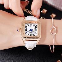 Damen Armbanduhr, mit Glas & Edelstahl & Zinklegierung, plattiert, für Frau, keine, 33x12mm, Länge:ca. 8 ZollInch, verkauft von PC