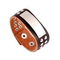 Unisex-Armband & Bangle, mit Zinklegierung, einstellbar, 215x25mm, verkauft per ca. 8.5 ZollInch Strang