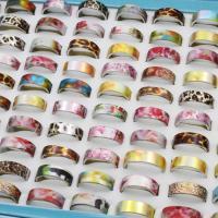 Zinklegierung Fingerring , Platinfarbe platiniert, unisex & gemischt, frei von Blei & Kadmium, 20x7mm-23x7mm, Größe:6-9, 100PCs/Box, verkauft von Box