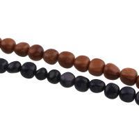 Edelstein Perle, verschiedenen Materialien für die Wahl, 9x10x8mm-10x10x9mm, Bohrung:ca. 1mm, 35PCs/Strang, verkauft per ca. 15.3 ZollInch Strang