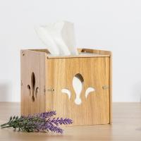 Holz Tücherbox, verschiedene Muster für Wahl, 138x148x138mm, verkauft von PC