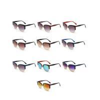 Art- und WeiseSonnenbrillen , Harz, mit PC Kunststofflinse & Zinklegierung, unisex, keine, 135x48x141mm, verkauft von PC