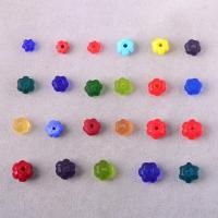 Lampwork Perle, Blume, handgemacht, verschiedene Größen vorhanden, Bohrung:ca. 2mm, verkauft von PC