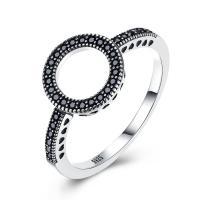 comeon® Finger-Ring, Thailand, Kreisring, verschiedene Größen vorhanden & Micro pave Zirkonia & für Frau, 11mm, verkauft von PC