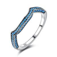 comeon® Finger-Ring, Thailand, mit Synthetische Türkis, verschiedene Größen vorhanden & für Frau, 2mm, verkauft von PC